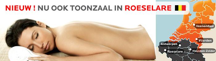 Nieuw! Nu ook in SuperSauna Roeselare in West-Vlaanderen