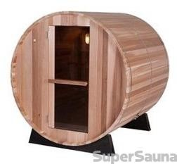 BARREL SAUNA ARCTIC RED CEDAR 6