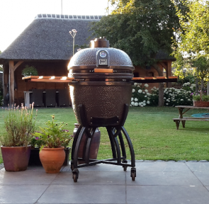 KAMADO GRILLNEST ® LARGE SILVER GREY