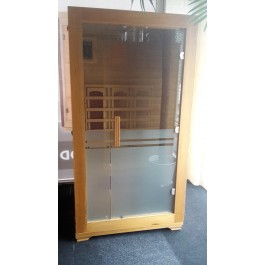 INFRAROOD SAUNA 1 BUDGET SHOWROOM MODEL