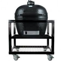 PRIMO GRILL OVAAL LARGE 300 + GRILL KAR