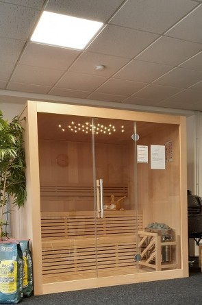 DESIGN SAUNA LINEE 205 SHOWROOM MODEL VEENENDAAL