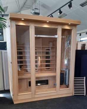 COMBI SAUNA 3 TRENDY SHOWROOM MODEL VLIERDEN
