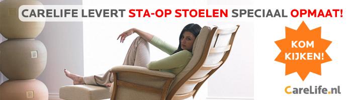 Sta-op stoelen ook speciaal opmaat gemaakt!